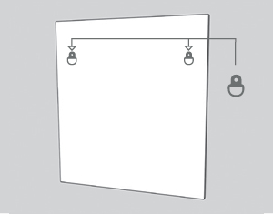 illustration of attaching d-ring hooks